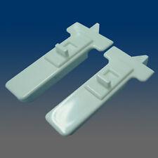 One pair of WHITE Window Sash Tilt Latches  2878WHITE