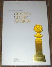 2012 GOLDEN GLOBES PROGRAM IN EXCELLENT CONDITION 69th ANNUAL 1/15/12 HFPA