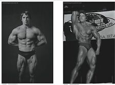 Arnold Schwarzenegger Exclusive Set of 2 Bodybuilding Posters of Arnold