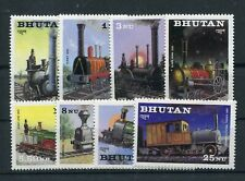Bhutan 852/59 postfrisch / Eisenbahn .....................................2/3448