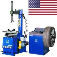 1New 1.5HP Tire Changer Wheel Changers Machine Combo Balancer Rim Clamp 580- 680