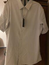 Lululemon Men's Xl Nwt Shirt Sleeve Airing Easy Button Down Shirt Color- Beige