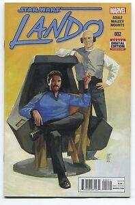 STAR WARS: LANDO #2 1st APP OF CHANATH CHA - ALEX MALEEV COVER - MARVEL/2015