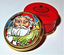 Halcyon Days English Enamel Box - Christmas - Tiffany & Co. - Santa Claus - Mib