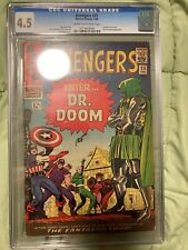 Avengers #25 CGC 4.5 1966  Silver Age Marvel Comics Dr Doom Kirby