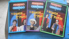 DVD FAEMINO Y CANSADO EL ORGULLO DEL 3er MUNDO DVD 3-4-5