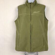 Life Is Good Green Fleece Vest Size Medium EUC