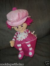 LITTLE MISS  MUFFIN PLUSH DOLL FIGURE CUPCAKE BAKERS GIRL DOLL 2011 JAYPLAY
