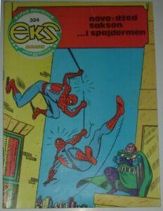 Spider-Man / Dr Octopus / Eks almanah 324 / Yugoslavia 1982 / Romita