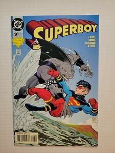 Superboy #9 (9.0, VF/NM) Direct Edition * 1 Book Lot *