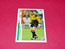 PAT BONNER IRELAND EIRE FIFA WC FOOTBALL CARD UPPER USA 94 PANINI 1994 WM94