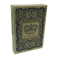 New Uusi Classic Blue Deck Playing Cards Poker Size