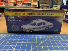 atlas editions 1:43 Ford Cortina Mkll Hampshire Police Car