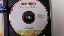 Bernina Editor Lit V4 Embroidery Software