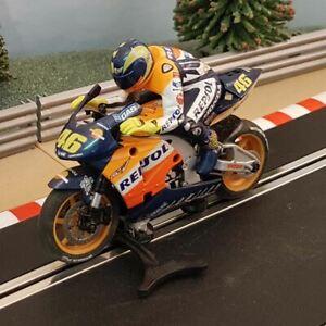 Scalextric 1:32 Moto GP Motorbike - C6000 Rossi Repsol Honda #46 ORANGE #HW