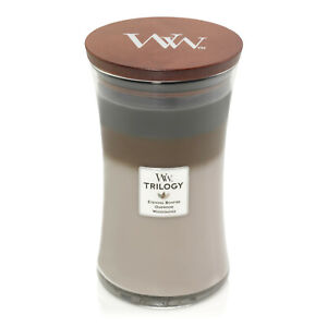 WoodWick Trilogy Large 21.5 oz Scented Jar Candle ~ Select Your Favorite(s)
