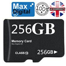 256GB Micro SD Tarjeta de memoria para teléfonos móviles, cámaras, tabletas, Grabadoras & Etc