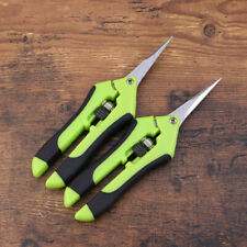 2-Pack Garden Scissors Trimmers Harvest Pruning Plants Trimming Shears
