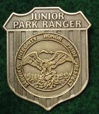 New Metal JUNIOR RANGER BADGE    NATIONAL PARK or STATE PARK