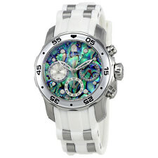 Invicta Pro Diver Chronograph Blue Abalone Dial Mens Watch 24829