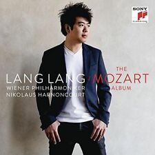LANG LANG The Mozart Album 2CD NEW Concertos & Sonatas