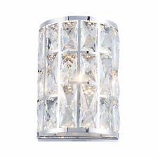 2X Maytoni Modern Gelid MOD184-WL-01-CH Chrome Wall Lamp/Lights - BOXED
