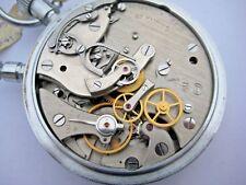 Soviet Russian military split second chronograph stop watch Slava