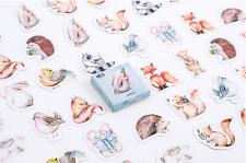 45 piece New Cartoon Forest Animals Sticker lot For Craft Diary Scrapbook Album