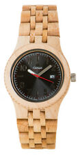 Tense Yukon Maple Watch - Model J5200M - Natural Wood Timepiece