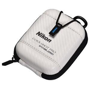 Nikon Golf Hard Case for COOLSHOT PRO STABILIZED Laser CS-CSPRO1 White JAPAN NEW