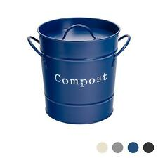 Compost seau Bin de cuisine en acier avec couvercle déchets Pail marine