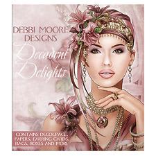 Debbi Moore Designs ~ Art Deco Decadent Delights ~ Papercrafting CD Rom NEW