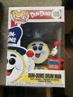 Dum-Dums Drum Man NYCC Ad Icons Funko Pop Vinyl New in Box
