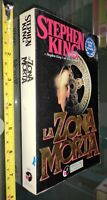 GG LIBRO: LA ZONA MORTA - STEPHEN KING - SPERLING PAPERBACK - 1981