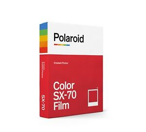 Polaroid Color / Colour Instant Film for SX-70 Cameras - Brand-new stock