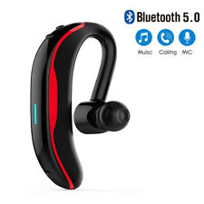 Bluetooth Headset Wireless Earpiece Over-Ear for iPhone Samsung S20 S10 S9 S8 Lg