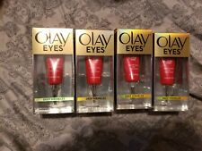 Olay Eyes Pro-Retinol Eye Treatment for Deep Wrinkles-LOT OF 4 ]0.5oz SEALED NEW