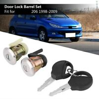 Car Front Door Ignition Switch Door Lock Ignition Switch Barrel Lock with 2 B2B2