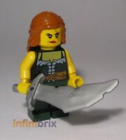 Lego Pirate Female Minifigure with Scar from set 850839 Pirates NEW pi143