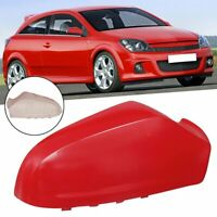 Right Side Wing Door Mirror Cover Casing For Vauxhall Astra H MK5 04-09 Red Cu