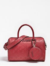 GUESS Red Logo Handbag,Women's Shoulder Bag, Large Size, New With Tags