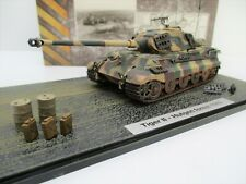 Hot Blooded Models 1/72 Tanks King Tiger w/Accessories Hutgen Forest 1945 A003