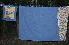 GARCON Moderne Parure DDP Housse de couette + taie oreiller LIT 1 PERSONNE bleu