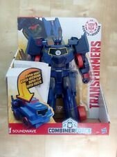 Transformers: Combiner Force - Hyper Vault Soundwave Figure BNIB