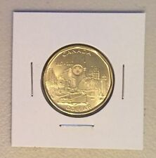 CANADA 2017 New Loonie 150th Our Achievements CONNECTING A NATION (BU From roll)