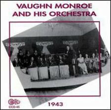 Vaughn Monroe - Orchestra 1943 [New CD]