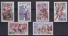 CONGO 1966 Sport Diversi Basket Volley Handball MNH** Yvert 190-5