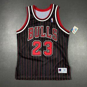 100% Authentic Michael Jordan Vintage Champion 95 96 Bulls Jersey Size 44 L Mens