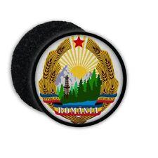Patch coat of arms of Romania emblema estrella sol insignia Patch #22254