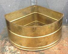 Vintage: Angoliera PORTAVASO FIORIERA  in ottone
